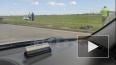 Видео: машины вылетела в поле на Софийской улице