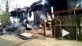 Жуткое видео из Тобольска: мужчина заживо сгорел в пожар...