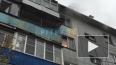 Видео: В Ленобласти загорелась квартира
