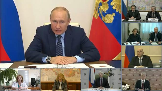 Названы основные темы обращения Путина к нации