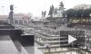 На площади Ленина из-за устаревшего трубопровода затопило проезжую часть