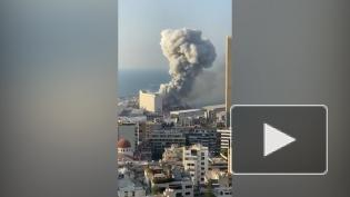 Астронавт сфотографировал с борта МКС пострадавший от взрыва Бейрут