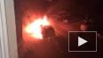 Очевидец снял два горящих автомобиля в Иваново
