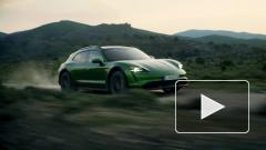 Porsche представила электромобиль Taycan Cross Turismo