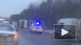 Появилось видео с Мурманского шоссе, где перевернулась ...
