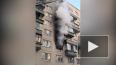 На Наставников в Петербурге горит жилая квартира
