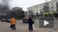 В Сергиевом Посаде сгорел грузовик: появилось видео