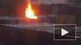"""Во дворе ЖК """"Новая Каменка"""" произошло возгорание в строи..."""