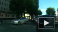 Жуткое видео из Орла: мотоциклист протаранил легковушку