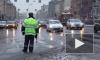 В Петербурге 10-балльные пробки, машины двигаются с минимальной скоростью