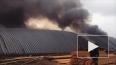 Появилось видео ужасного пожара на пилораме в деревне ...