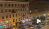 Видео: из-за неработающего светофора на Невском образовалась пробка