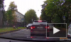 На улице Орбели гимназиста сбили на пешеходном переходе (видео)