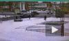 Видео: в Колпино легковой автомобиль перевернулся на скорости