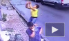 Видео из Турции: Подросток поймал выпавшую из окна маленькую девочку