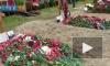 На Серафимовском кладбище похоронили погибших в Баренцевом море подводников