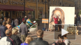 На Малой Садовой в Петербурге нарисовали огромный ...