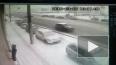 Видео: перед Гренадёрским мостом сбили пешехода