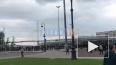"""У входа на """"Газпром Арену"""" собралась огромная очередь ..."""