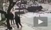 Смертельное видео из Дагестана: легковушка вылетела на тротуар