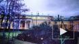 Шторм повалил новогоднюю ель у Таврического дворца ...