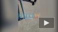 Видео: в фан-зоне на Конюшенной обвалился асфальт