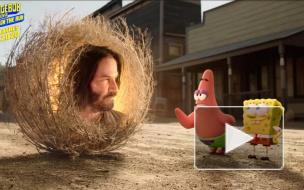 В сети появился трейлер нового фильма про Губку Боба. Там появится Киану Ривз