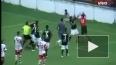 Видео: Фанат напал на игроков своей команды