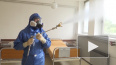 В Сербии российские специалисты продезинфицировали ...