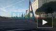 """Видео: в Колпинском районе около """"Окея"""" на дорогу ..."""