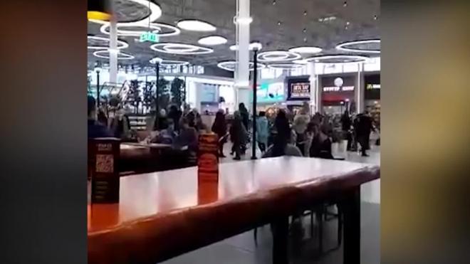 """Посетителей ТРЦ """"Мега Дыбенко"""" попросили покинуть здание"""