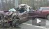 Появились фотографии кошмарной аварии, в которой погиб водитель Skoda