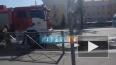 В Стрельне сгорел пассажирский автобус