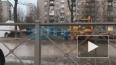 Видео: на проспекте Ветеранов прорвало трубопровод ...