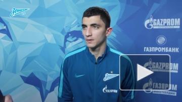 """Ибрагим Цаллагов о своем дебюте за """"Зенит"""""""