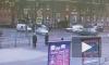 Момент столкновения Mazda и Daewoo Nexia на Варшавской попал на видео