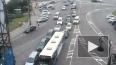 Дорожный слалом: ДТП у Биржевого моста
