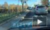 Видео: у Лисьего Носа столкнулись Lexus и BMW
