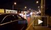Видео: на улице Дыбенко образовалась пробка из трамваев из-за ДТП