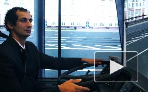 В Калининском районе появились новые трамвайные и троллейбусные тренажеры