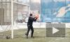 """""""Зенит"""" провел тренировку перед игрой 1/8 финала Лиги Чемпионов против """"Бенфики"""""""