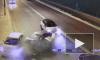 """Видео: каршеринг на скорости врезался в авто на """"встречке"""" в Колпино"""