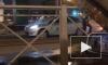 Ночью на трамвайных путях в Приморском районе застало два автомобиля