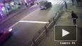 Появилось шокирующее видео наезда Lexus на пешеходов ...