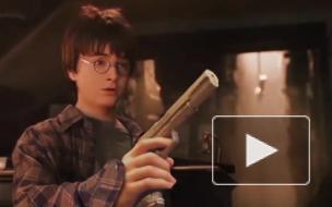 Из фильма про Гарри Поттера убрали палочки и заменили на пистолеты