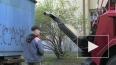 Грузовики увозят на штрафстоянку