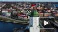 Видео: над Выборгом подняли Знамя Победы