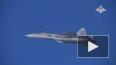 Опубликовано видео боевой работы новейших Су-57 в Сирии