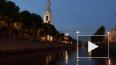 Ночью в центре Петербурга заметили канатоходца
