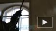 Видео: на Рубинштейна начал рушиться потолок в доме